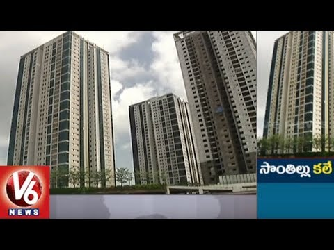 Realtors Suggests People: This Is The Best Time to Buy a Affordable House In Hyderabad | V6 News