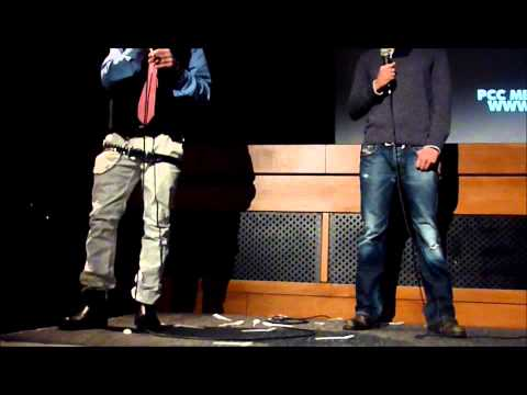 Tommy Wiseau and Greg Sestero @ Prince Charles Cinema - 07 Feb 2013