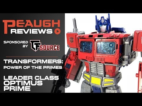 Video Review: Transformers: Power of the Primes - Leader Class OPTIMUS PRIME