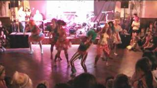 Tanzgruppe Funky Shadows Fasching 2011 Clowns TANZ