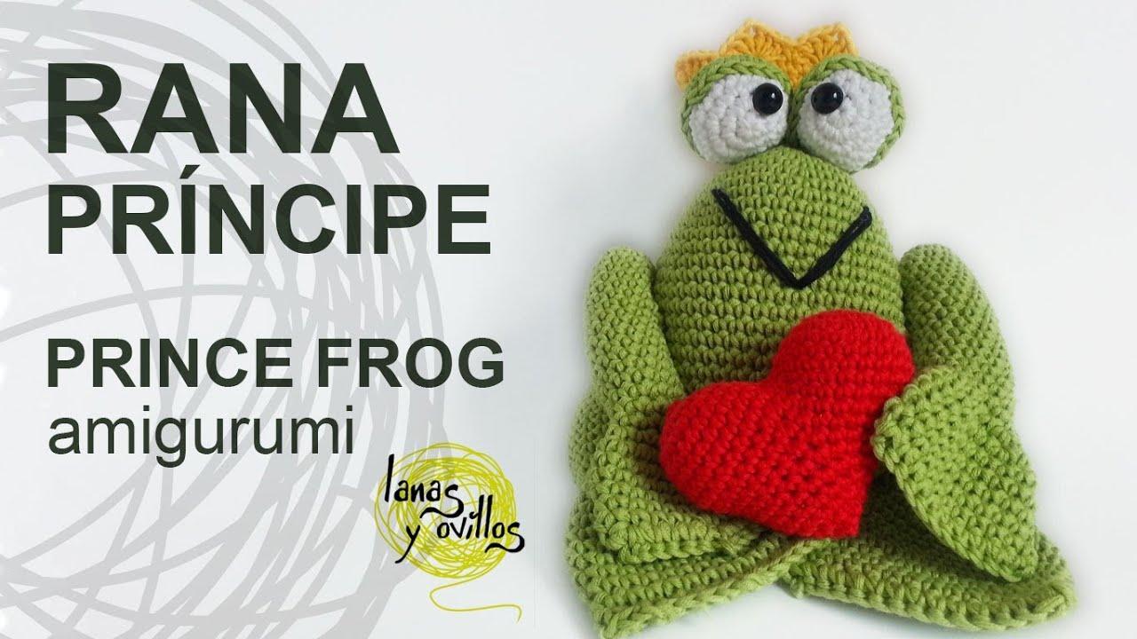 Tutorial Rana Pr?ncipe Amigurumi Prince Frog(English ...