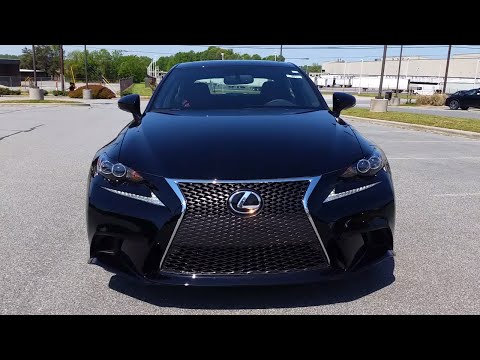 2016 Lexus IS350 FSport Full Feature Review