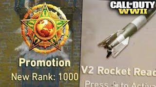 V2 ROCKET UNLOCKS LEVEL 1000 (Reaction) - Call of Duty: WW2