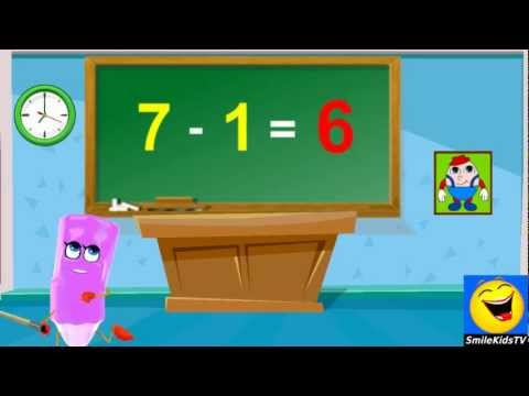 Download Subtraction | 1 Minus Table Twice | Home School Tutorial Online Math Mp4 baru