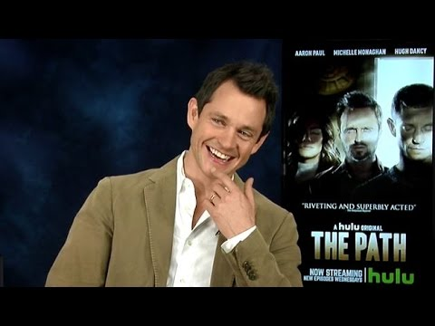 "Hugh Dancy on his Awkward ""Sex"" Scene, Underwear, & Claire Danes in ""The Path"" on Hulu  Interview!"