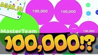 INSANE 40,000+ TEAM PLAY! - AGARIO - AGAR.IO ROAD TO 100,000
