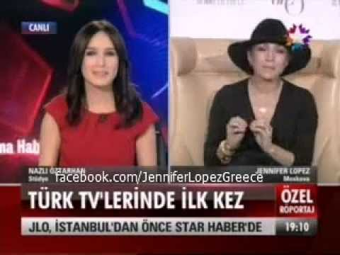 Jennifer Lopez on Star TV Turkey Live from Moscow 9/11/12