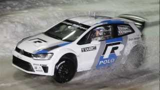Preview - VW Polo R WRC on Ice - Volkswagen Winter Night 2012 in Ellmau (Full HD 1080p.)