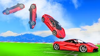 WEIRDEST SUPERCAR BACKFLIP CHALLENGE! (GTA 5 Funny Moments)