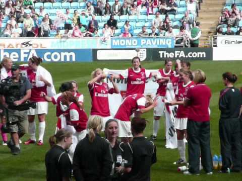 FA Women's Cup Final 2011 Compilation: Arsenal Ladies - Bristol Academy