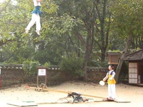 South Korea Seesaw Game