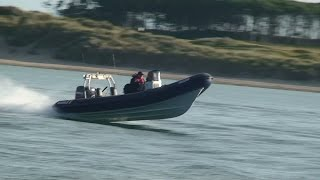 RIBBOAT 7,5m  LENCRAFT  AND 150 HP YAMAHA OUTBOARD IRELAND MULAGHMORE