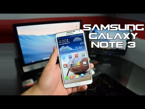 Full Hands On & First Look with Samsung Galaxy Note 3