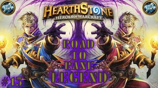 HEARTHSTONE: ROAD TO RANK LEGEND - NEW PRIEST DECK #15