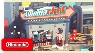 Automachef - Launch Trailer - Nintendo Switch