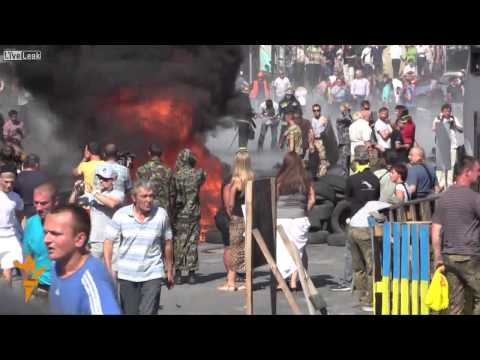 Ukraine: Fighting and Fire On Kiev's Independence Square