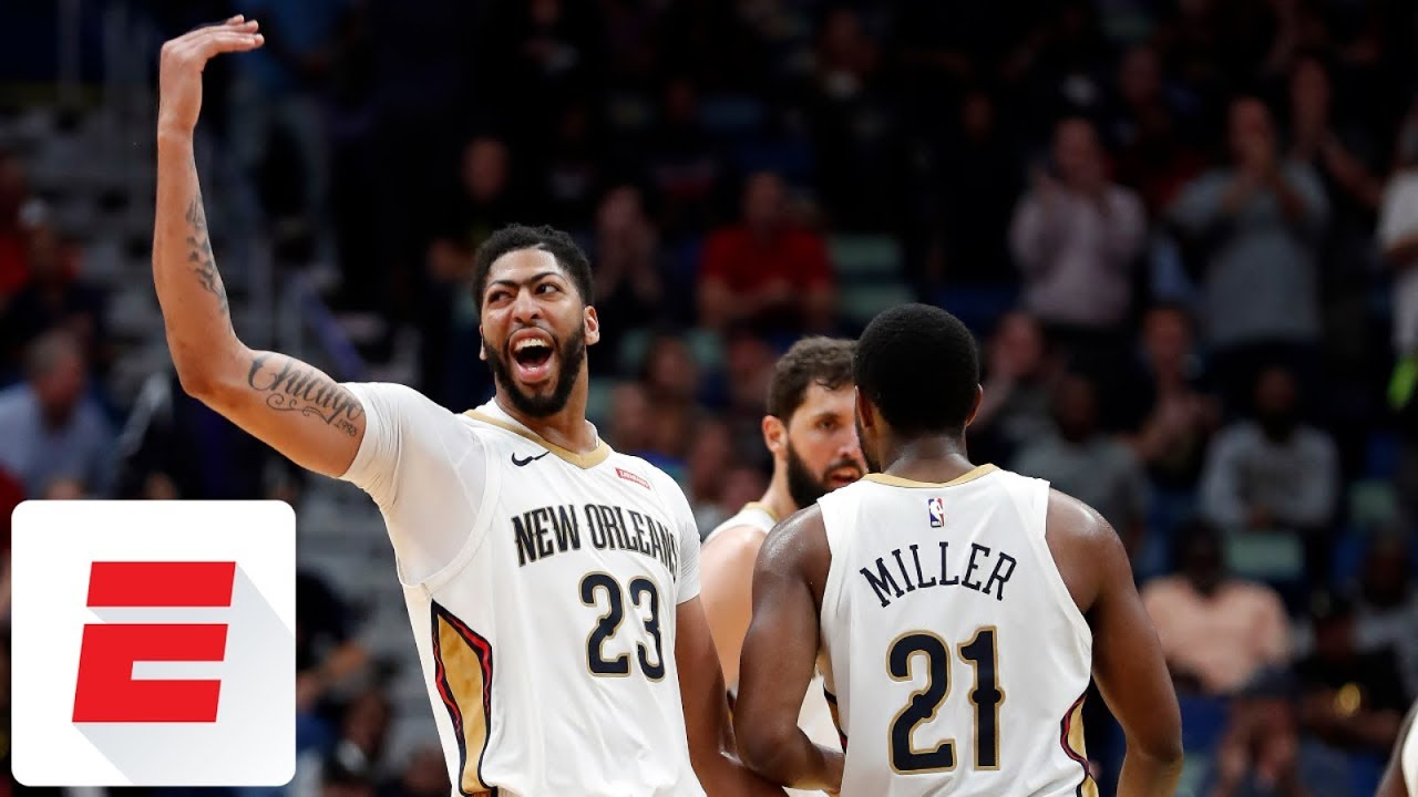 Anthony Davis scores 53 and grabs 17 rebounds in win over Suns | ESPN