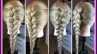 Trenza Francesa/French braid  ( visible/invisible)