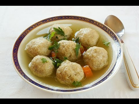 Matzo Ball Recipe - Light and Fluffy
