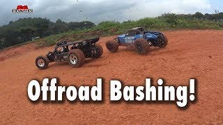 RC offroad desert buggies bashing trucking adventures