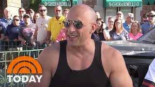 Vin Diesel Helps Debut New Fast And Furious Ride At Universal Orlando | TODAY