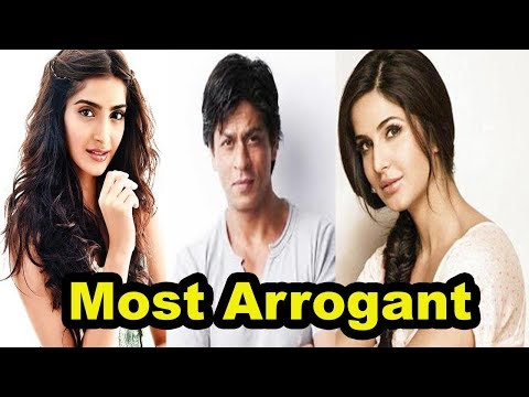 Top 5 Most Arrogant Bollywood Celebrities [Bollywood Cafe]