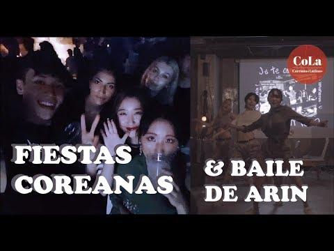 [Coreanas Latinas] Preparándonos para la fiesta & baile de Arin