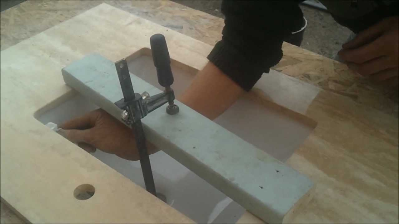 Undermount Sink Mounting : How to Glue Undermount Sink for Bathroom Vanity Countertop - Bath and ...