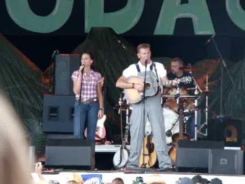 Hodag, July 9 2010 Easton Corbin's Song, I'm A Little More Country Than That covered by Joey + Rory.