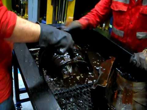 Estaci 211 N De Lavado Con Liquido Desengrasante Recirculante