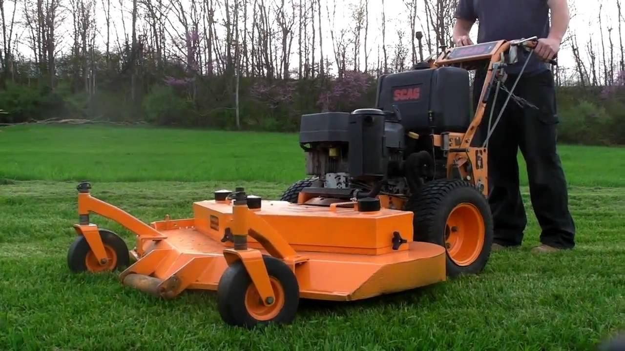 Scag 52 Commercial Zero Turn Hydro Advantage Lawn Mower