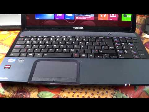 Toshiba S855-01K review core I5 Intel laptop notebook Windows 8