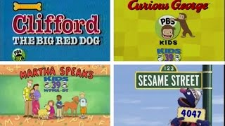 PBS Kids Local Funding Bumper Compilation (WFWA)