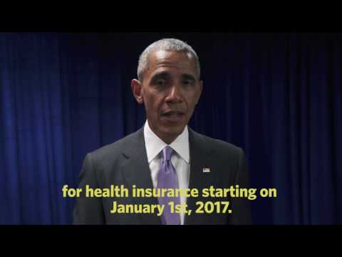 President Obama on Getting Covered