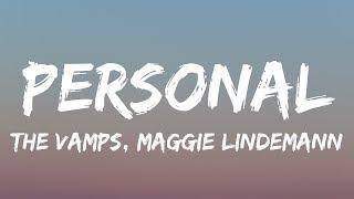 The Vamps, Maggie Lindemann - Personal (Lyrics / Lyrics Video)