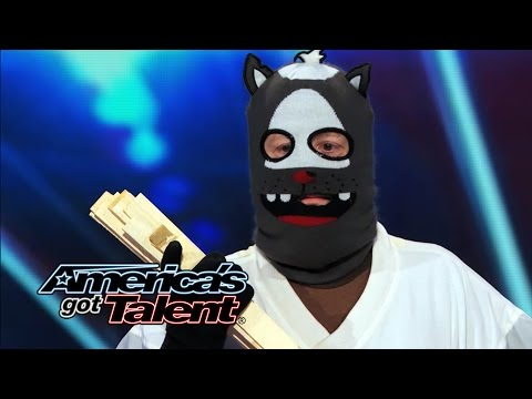 Dustin's Dojo: Howard Stern Uses Golden Buzzer on Karate Kid - America's Got Talent 2014 (Highlight) Image 1