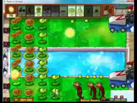 Plants vs Zombies - Bobsled Bonanza - How to beat it