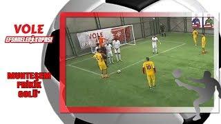 Vole Efsaneler Kupası | Celil'den Sahalarda Ender Rastlanan Bir Gol!
