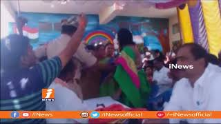 Clashes Between MPP And ZPTC Members In Jagtial   iNews