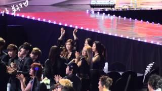 [FanCam] 140212 GaonKpop SNSD Off stage (Hyoyeon,Sunny,Jessica,Tiffany,Seohyun,Yoona)