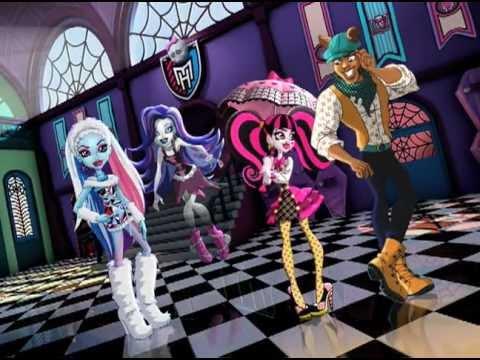 Monster High School 2011 commercial