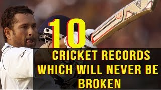 10 Cricket Records Which Will Never Be Broken