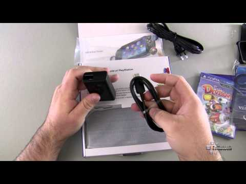 Playstation Vita First Edition Bundle Unboxing