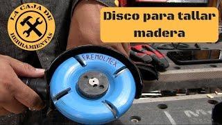 DISCO PARA DESBASTE DE MADERA FREMOLMEX