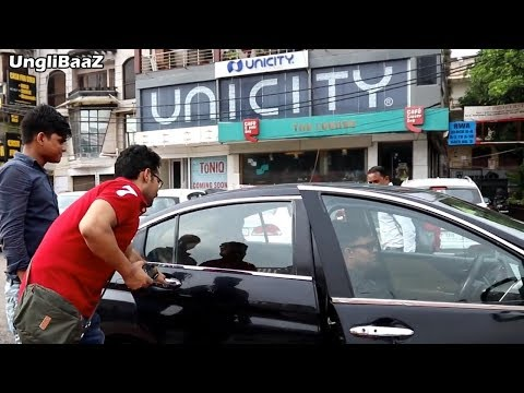 Blind Man Driving CAR Prank | Pranks in India 2018 | Unglibaaz