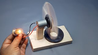 How to Make Free Energy Permanent Magnet Generator at Home _ Science Experiment