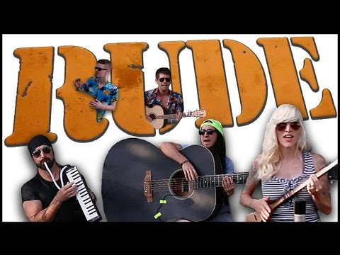 Rude - Walk off the Earth (Magic! cover) Music Videos