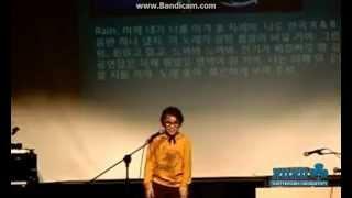 [PRE-DEBUT] SEVENTEEN's Choi Hansol on stage imitating Rain (?)