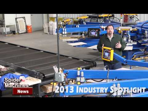 Printex Customer Loyalty - Spider Machines 2013 Industry Spotlight