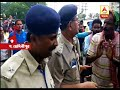 Police personnel beaten by BJP supporters while they are returning from Midnapore after at